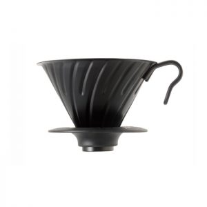 Hario Dripper V60 Metal Matte Black 02
