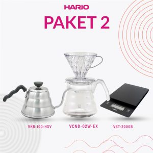 Paket 2A Manual Brewing (VKB-100HSV, VCND-02W-EX, VST-2000B)