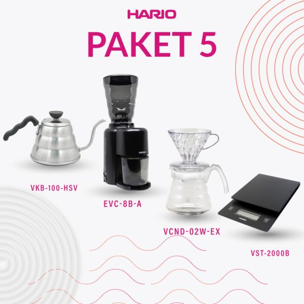 Paket 5A Manual Brewing (VKB-100HSV,EVC-8B-A, VCND-02W-EX, VST-2000B)