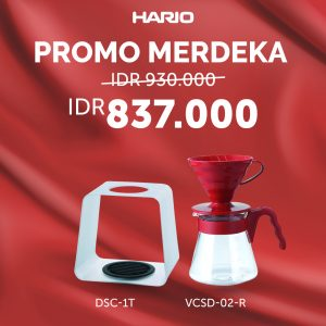 Hario Paket Merdeka (VCSD-02R, DSC-1T)