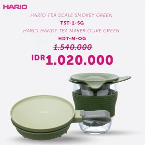 Hario Bundling Tea Maker I (TST-1-SG, HDT-M-OG)