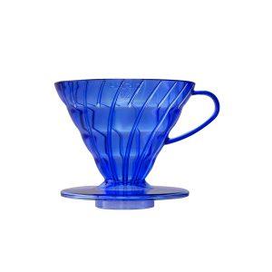 Hario V60 Transparent Cobalt Blue 02 VD-02-TCB-A