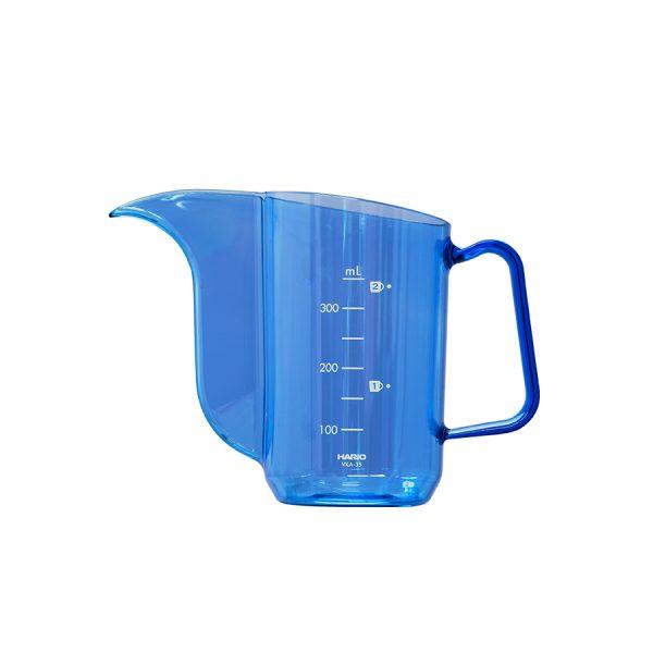 Hario Kettle Transparent Cobalt Blue Air VKA-35-TCB-A